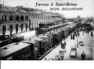De 1880 à 1892: Les transports avant l'arrivée de O.L. AUBERT à Saint-Brieuc