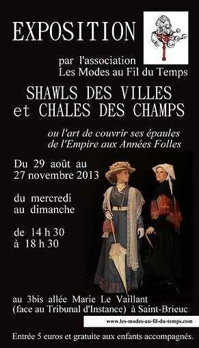 Exposition Shawls des villes et châles des champs