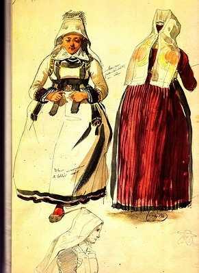 L'iconographie sur les robes rouges